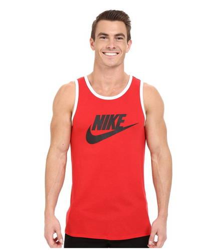 ナイキ エース ロゴ タンクトップ トップ ユニバーシティー メンズ 男性用 メンズファッション トップス 【 NIKE ACE LOGO TANK TOP UNIVERSITY RED BLACK WHITE 】