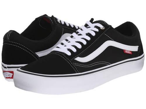 バンズ オールドベリー スコール プロ メンズ 男性用 メンズ靴 【 VANS OLD SKOOL PRO BLACK WHITE 】