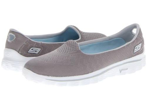 スケッチャーズ パフォーマンス エンジニアリング 灰色 グレー グレイ レディース 女性用 バレエシューズ レディース靴 【 GRAY SKECHERS PERFORMANCE GOWALK 2 ENGINEERED 】