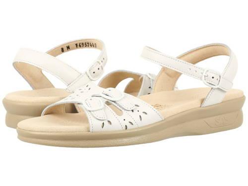 デュオ 白 ホワイト レディース 女性用 レディース靴 サンダル 【 SAS DUO WHITE 】
