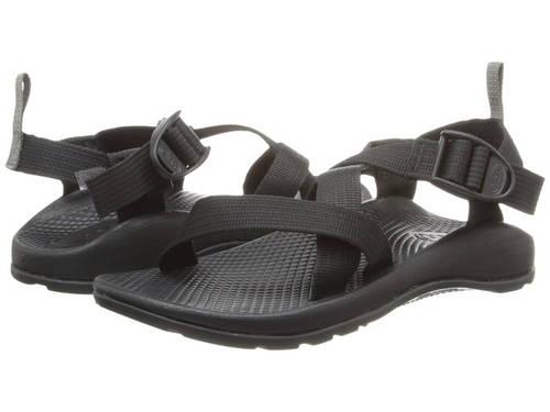 黒 ブラック 1 子供用 ビッグキッズ 靴 サンダル 【 BLACK CHACO KIDS Z ECOTREAD TODDLER 】