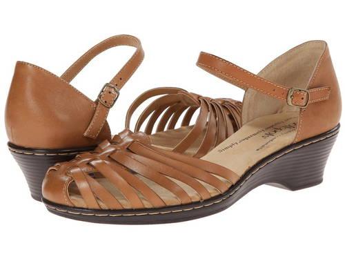ソフト スポッツ タン カジュアル ファッション LT. パンプス レディース靴 【 COMFORTIVA TATIANNA SOFT SPOTS TAN 】