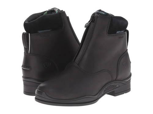 イングリッシュ エクストリーム ジップ 黒 ブラック 子供用 リトルキッズ ベビー 靴 【 BLACK ARIAT ENGLISH KIDS EXTREME ZIP PADDOCK H2O INSULATED 】