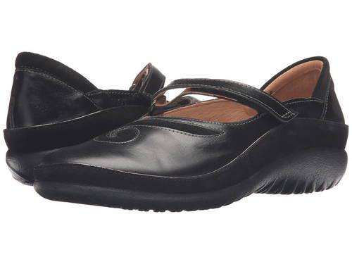黒 ブラック マドラス スエード スウェード レディース 女性用 靴 レディース靴 【 BLACK NAOT MATAI MADRAS LEATHER SUEDE 】