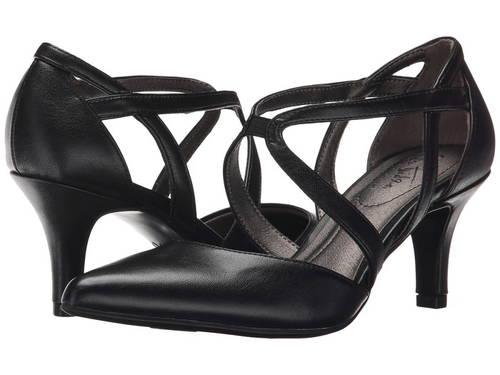 シームレス 黒 ブラック レディース 女性用 靴 レディース靴 【 BLACK LIFESTRIDE SEAMLESS VINCI 】