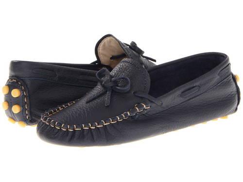 ローファー 紺 ネイビー 子供用 ビッグキッズ ベビー 靴 【 NAVY ELEPHANTITO DRIVER LOAFERS TODDLER 】