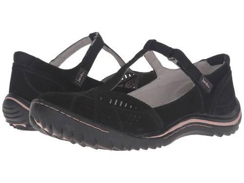 ブリジット 黒 ブラック レディース 女性用 靴 バレエシューズ 【 BLACK JAMBU BRIDGET 】
