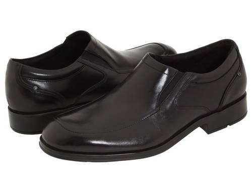 黒 ブラック レザー レディース 女性用 靴 レディース靴 【 BLACK ROCKPORT ALPENGLOW FULLGRAIN LEATHER 】