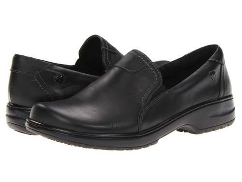 黒 ブラック レディース 女性用 レディース靴 ミュール 【 BLACK NURSE MATES MEREDITH 】