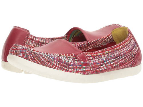 サニー レディース 女性用 レディース靴 靴 【 SAS SUNNY RED RAINBOW 】