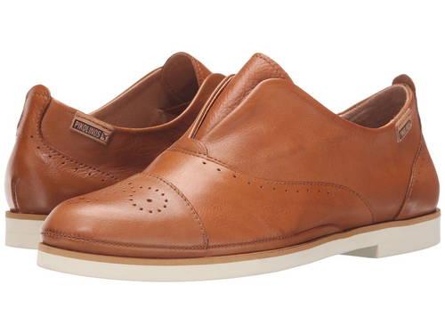 サントリーニ ブランデー レディース 女性用 ローファー 靴 【 PIKOLINOS SANTORINI W7G3517 BRANDY 】