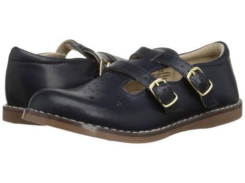 紺 ネイビー 子供用 ベビー 赤ちゃん用 キッズ 靴 【 NAVY FOOTMATES DANIELLE 3 INFANT TODDLER 】