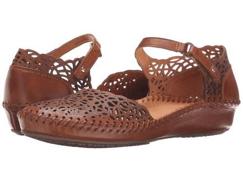 ブランデー レディース 女性用 レディース靴 【 PIKOLINOS PUERTO VALLARTA 6551532 BRANDY 】