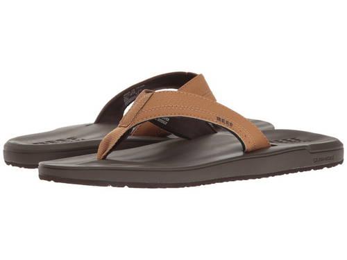 クッション 茶 ブラウン メンズ 男性用 メンズ靴 靴 【 REEF CONTOURED CUSHION BROWN 】