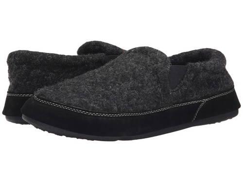 フェイブ ゴア 黒 ブラック ツイード メンズ 男性用 靴 【 BLACK ACORN FAVE GORE TWEED 】
