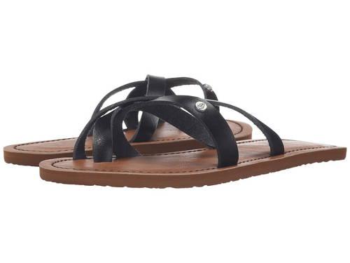 ボルコム ランブル サンダル 黒 ブラック レディース 女性用 靴 【 VOLCOM BLACK RAMBLE SANDAL 】