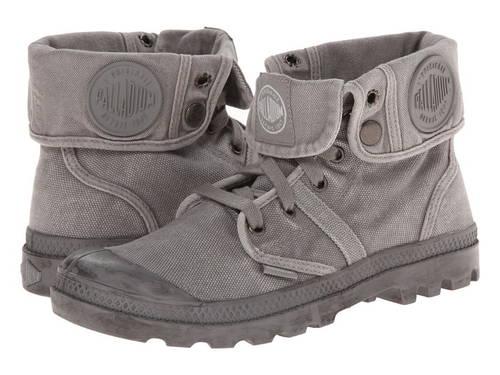 パラディウム バギー レディース 女性用 靴 【 PALLADIUM PALLABROUSE BAGGY TITANIUM HIGHRISE 】