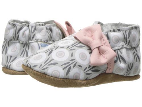 ソフト ソール パステル ピンク ベビー 赤ちゃん用 マタニティ 靴 【 PINK ROBEEZ WILDFLOWERS SOFT SOLE INFANT TODDLER PASTEL 】