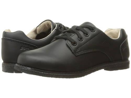 ストーム 黒 ブラック レースアップ 子供用 リトルキッズ 靴 フォーマル靴 【 BLACK PEDIPED STORM FLEX LACEUP 】
