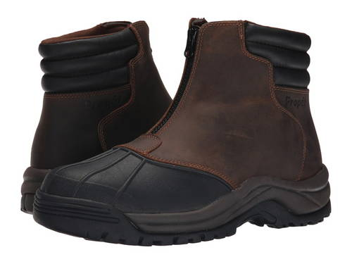 ブリザード ミッド ジップ メンズ 男性用 靴 メンズ靴 【 PROPET BLIZZARD MID ZIP BROWN BLACK 】