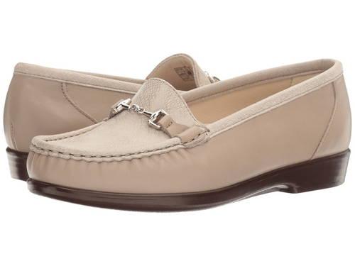 メトロ ウェブ レディース 女性用 ローファー 靴 【 SAS METRO TAUPE LINEN WEB 】