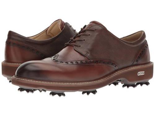 エコー ゴルフ ルクス メンズ 男性用 メンズ靴 【 GOLF ECCO LUX BISON STONE 】