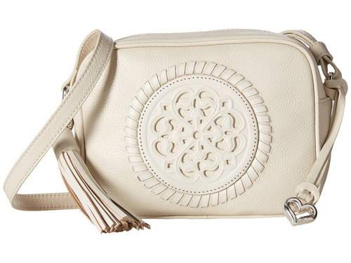 カメラ バッグ 白 ホワイト レディース 女性用 小物 【 BRIGHTON SIMONA CAMERA BAG WHITE 】