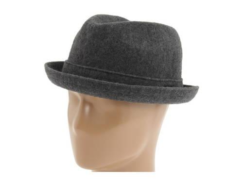 コンゴール ウール プレーヤー ダーク フランネル メンズ 男性用 ブランド雑貨 メンズ帽子 【 KANGOL WOOL PLAYER DARK FLANNEL 】