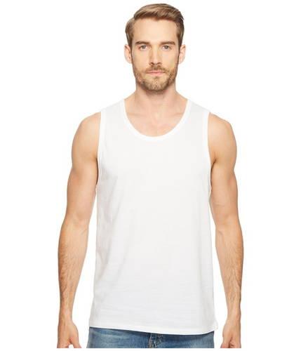 ベーシック タンクトップ トップ 白 ホワイト メンズ 男性用 メンズファッション 【 ALTERNATIVE BASIC TANK TOP WHITE 】