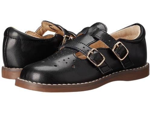 黒 ブラック 子供用 ベビー 赤ちゃん用 ファッション 【 BLACK FOOTMATES DANIELLE 3 INFANT TODDLER 】