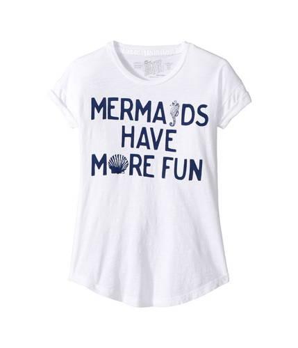 クルー kids) tシャツ ネック マーメイド ファン スラブ ハブ (big モア mermaids have more fun crew neck slub tee トップス マタニティ キッズ カットソー ベビー