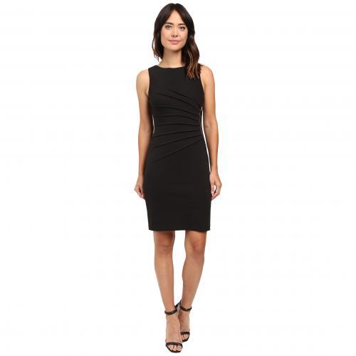 スターバースト ドレス ワンピース 黒 ブラック レディース 女性用 レディースファッション 【 BLACK IVANKA TRUMP STARBURST DRESS 】