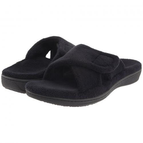 リラックス 黒 ブラック テリー レディース 女性用 レディース靴 【 BLACK VIONIC RELAX TERRY 】