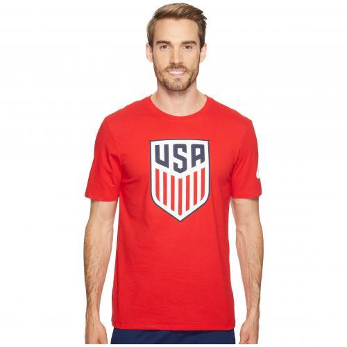 ナイキ ユーエスエー クレスト Tシャツ ユニバーシティー 赤 レッド メンズ 男性用 メンズファッション 【 NIKE USA CREST TEE UNIVERSITY RED 】