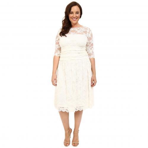 オーロラ レース ウェディング ドレス ワンピース アイボリー レディース 女性用 レディースファッション 【 KIYONNA AURORA LACE WEDDING DRESS IVORY 】