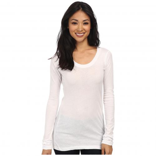 9531576b34be6 WHITE CREW S L 008 LNA 【 トップス Tシャツ 女性用 レディース ホワイト 白 クルー ロングスリーブ 長袖-Tシャツ ・カットソー