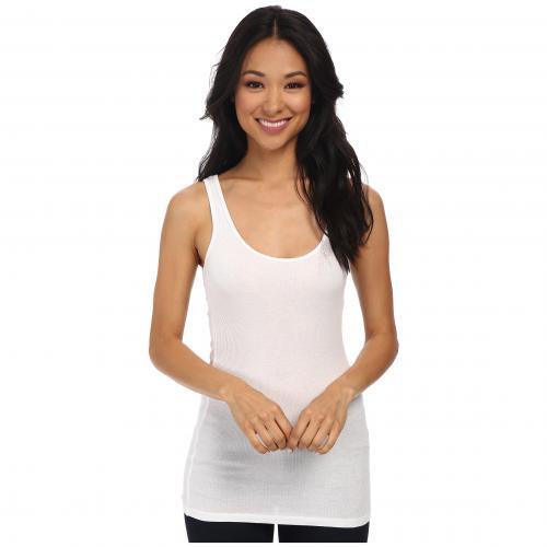 ダブル タンクトップ 白 ホワイト レディース 女性用 レディースファッション 【 LAMADE DOUBLE U TANK WHITE 】