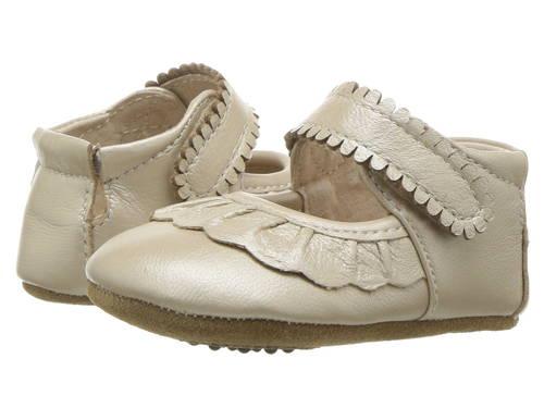 ルカ シャンパン & ベビー 赤ちゃん用 ファッション 靴 【 LIVIE LUCA RUCHE INFANT CHAMPAGNE 】