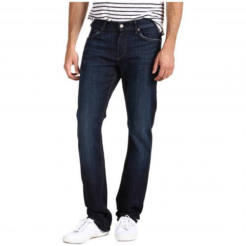 オール マンカインド スリム ストレート レッグ イン ロサンゼルス ダーク カジュアル ファッション パンツ ズボン 【 SLIM 7 FOR ALL MANKIND SLIMMY STRAIGHT LEG IN LOS ANGELES DARK 】