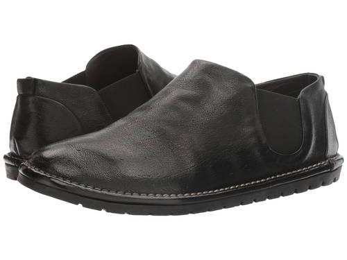 ルンペン 黒 ブラック メンズ 男性用 メンズ靴 靴 【 BLACK MARSELL GOMMA PULLON LOAFER 】