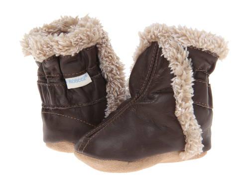 クラシック 茶 ブラウン ベビー 赤ちゃん用 ベビー靴 ファッション 【 ROBEEZ CLASSIC BOOTIE INFANT TODDLER BROWN 】