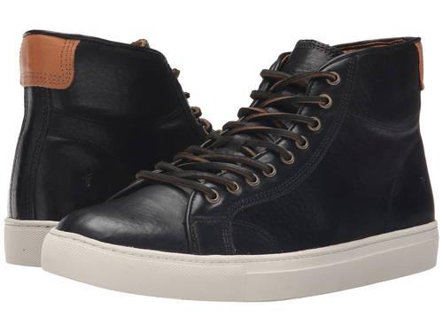 フライ ウォーカー 黒 ブラック フル グレイン メンズ 男性用 靴 メンズ靴 【 BLACK FRYE WALKER MIDLACE TUMBLED FULL GRAIN 】