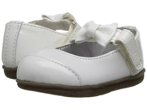 白 ホワイト ベビー 赤ちゃん用 ベビー服 靴 【 STRIDE RITE MIRREN INFANT TODDLER WHITE 】