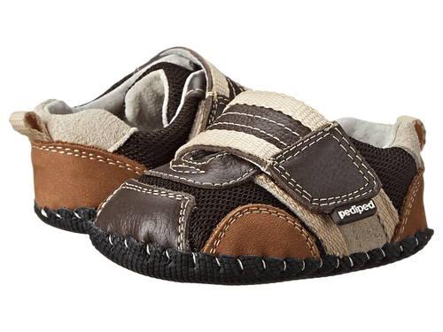 エイドリアン オリジナル チョコレート 茶 ブラウン ベビー 赤ちゃん用 靴 【 PEDIPED ADRIAN ORIGINAL INFANT CHOCOLATE BROWN 】