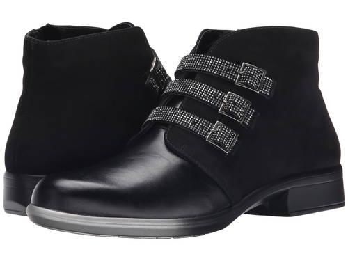 黒 ブラック マドラス ベルベット ヌバック レディース 女性用 メンズ靴 ブーツ 【 BLACK NAOT VARDAR MADRAS LEATHER VELVET NUBUCK 】