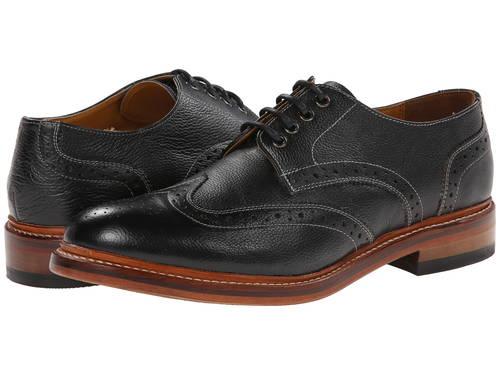アダムス マディソン オックスフォード 黒 ブラック レザー メンズ 男性用 メンズ靴 靴 【 BLACK STACY ADAMS MADISON II OXFORD MILLED LEATHER 】