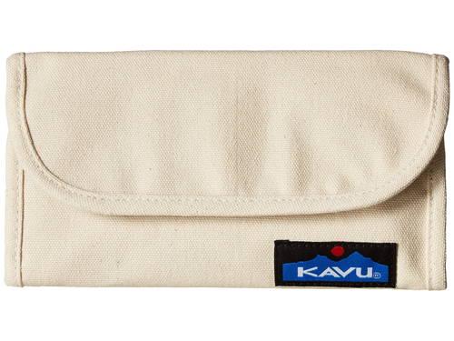 ビッグ ブランク キャンバス レディース 女性用 財布 レディース財布 【 KAVU BIG SPENDER BLANK CANVAS 】