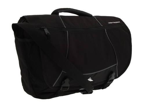 ハイ シエラ タンクトップ メッセンジャー バッグ 黒 ブラック メンズ 男性用 ショルダーバッグ メンズバッグ 【 BLACK HIGH SIERRA TANK MESSENGER BAG 】
