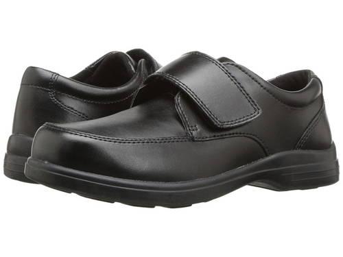 黒 ブラック レザー 子供用 リトルキッズ フォーマル靴 ベビー 【 BLACK HUSH PUPPIES KIDS GAVIN TODDLER LEATHER 】