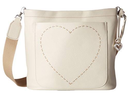 バケツ バッグ 白 ホワイト レディース 女性用 ハンドバッグ 【 BRIGHTON JANINE BUCKET BAG WHITE 】